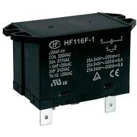 Power relé Hongfa HF116F-1/012DA-2HTW, 25 A , 277 V/AC , 6925 VA