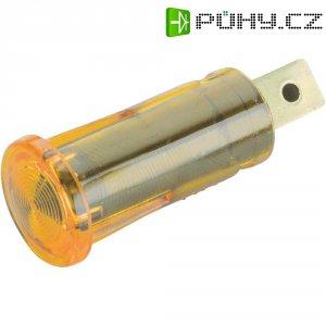 Kontrolka, žlutá, 12 V, 0,7 W