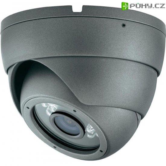 Venkovní dome kamera Sygonix 540 TVL, 8,5 mm Sharp Hi-Resolution CCD, 12 VDC, 3,6 mm - Kliknutím na obrázek zavřete