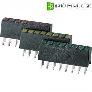 LED řádek 8nás. Signal Construct, ZAQS 0817, 4 mm, žlutá