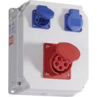 Plastový rozbočovač Lofer4 PCE, 9017254, 400 V, 16 A, IP54