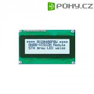 LCD displej Anag Vision, AV0820GFBW-SJ, 13,5 mm, Anag V