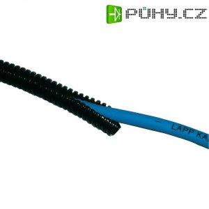 Ochranná hadice na kabely LappKabel SILVYN® Rill PP 7.5 x 10 61806505, 7.50 mm, černá, metrové zboží