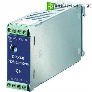 Zdroj na DIN lištu TDK-Lambda DPX-24S-15, 4 A, 15 V/DC