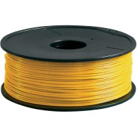 Náplň pro 3D tiskárnu, Renkforce ABS175J1, ABS, 1,75 mm, 1 kg, zlatá
