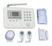 Alarm domovní bezdrátový GSM HG-112-CZ sada
