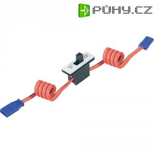 Silikonový vypínač s JR konektory Modelcraft, 0,35 mm²