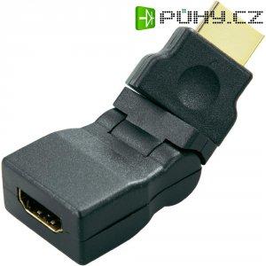 HDMI zástrčka s adaptérem SpeaKa, otočná 360°