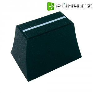 Krytka na přepínač Cliff CP3190, CS/2, 6/8 mm, černá