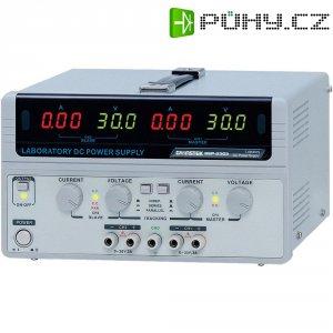 Dvojitý laboratorní zdroj GW Instek GPS-2303, 0 - 30 V/DC, 0 - 3 A