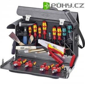 Sada pro elektrikáře nářadím v kufru Knipex, 24 ks