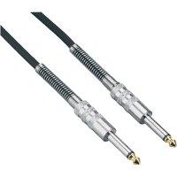 Instrumentální kabel JACK 6,3 mm Paccs, 3 m, černá