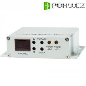 Digitální UHF modulátor Triplex MES-30U, 9 - 12 V/DC