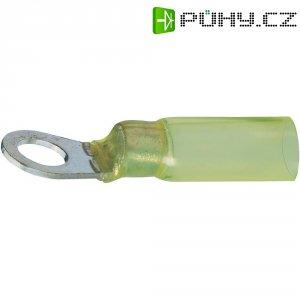 Očkový konektor, M5, 4 - 6 mm², žlutá
