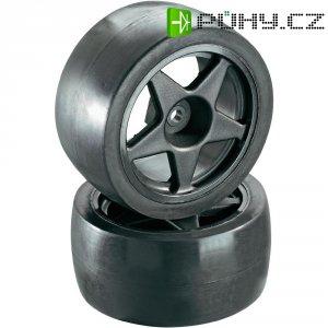 Silniční kolo hladké Reely, 5 paprsků, 12 mm 6-hran, 1:10, černá, 2 ks