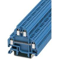 Mini svorka 2násobná P. Contact MTTB 1,5 BU (3000926), šroub., 4,2 mm, modrá