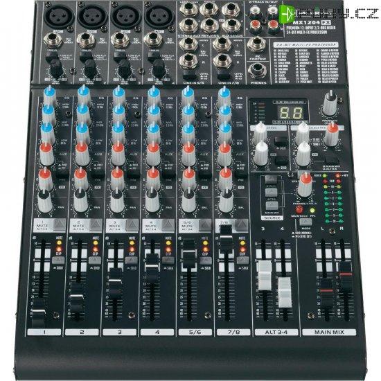 Mixážní pult Mc Crypt MX1204 FX - Kliknutím na obrázek zavřete