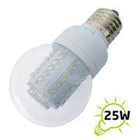Žárovka LED B60 E27/230V (60LED-H) 3W - bílá