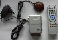 Digitální DVB-T tuner do SCART / EPG/TXT, s dálkovým ovladačem