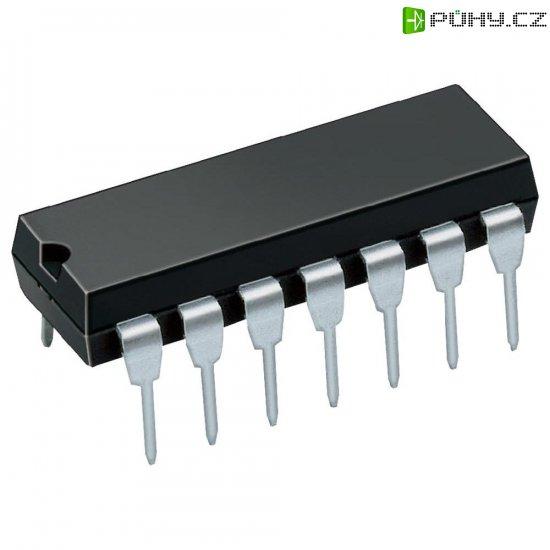 NF zesilovač Texas Instruments LM380N, 2,5 W, DIL 14 - Kliknutím na obrázek zavřete