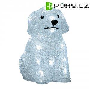 Akrylátové LED štěně, 20 LED