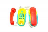 Telefony dětské TEDDIES 2ks