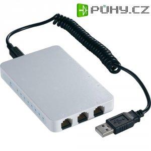 Switch superslim Ethernet, 8-portový s USB napájením