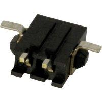 Konektor TE Connectivity Micro-Mate-N-Lok (2-1445057-4), kolíková lišta úhlová, 250 V