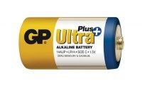 Baterie C (R14) alkalická GP Ultra Plus Alkaline R14