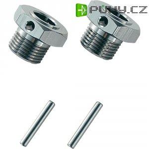 Unašeč kola 17 mm 6-hraný Reely MV107TI, 1:8, titanový hliník, 2 ks