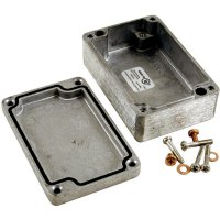 Univerzální pouzdro hliníkové Hammond Electronics 1590Z160, (d x š x v) 160 x 160 x 90 mm, hliníková