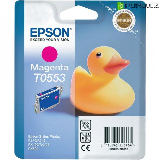 Cartridge do tiskárny Epson T0553, C13T05534010, magenta - Kliknutím na obrázek zavřete