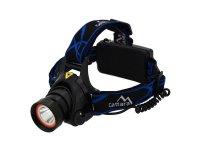 Svítilna čelovka LED 400lm (1x XM-L+15x SMD)