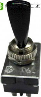 Kolébkový přepínač 10 A, R13-2