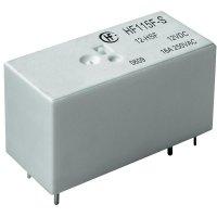 Relé pro proudové špičky Hongfa, HF115F-S/012-HSF, 16 A, 16 A , 440 V/AC , 4000 VA