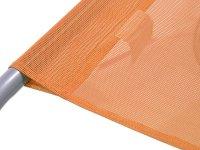 Lehátko kempingové skládací CATTARA PALERMO oranžové