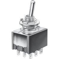 Mini kolébkový přepínač Marquardt 9040.0301, 30 V/DC, 4 A, 3x zap/zap, 1 ks