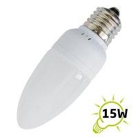 Žárovka LED C35 E27/230V (24x) - bílá