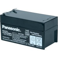 Olověný akumulátor, 12 V/1,3 Ah, Panasonic LC-R121R3PG