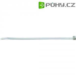 Zalamovací stahovací pásky ABB TT-11-30-9-L-EU, 282 x 4,7 mm, 50 ks, bílá