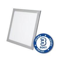 LED panel, 20W, 30x30cm, 1300lm, 4000K, stříbrný rám, LP01