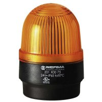 Bleskové světlo Werma, 202.300.68, 230 V/AC, 30 mA, IP65, žlutá