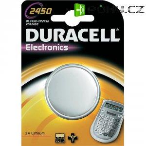 Knoflíková baterie Duracell CR2450, lithium, DUR030428