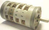 Vačkový spínač VS10 2254 D4, 10A/380V~, 2 polohy 90°
