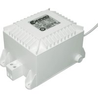 Transformátor, 230 V ⇔ 12 V/AC, 150 W, bílá