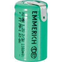 Akumulátor NiMH Emmerich 2/3 A 1100 mAh, ZLF