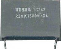 27n/1500V TC343, svitkový kondenzátor impulsní
