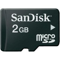 Paměťová karta microSD SanDisk2GB Class 2