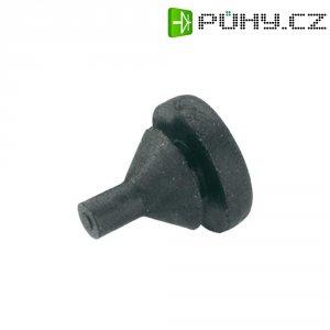 Gumová nožička do vyvrtaných otvorů PB Fastener 1287-01, černá