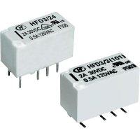 Subminiaturní signálové relé HFD3 12 V/DC 2 A Hongfa HFD3/012 1 ks
